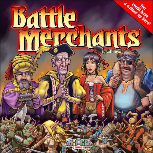 Battle Merchants Cover